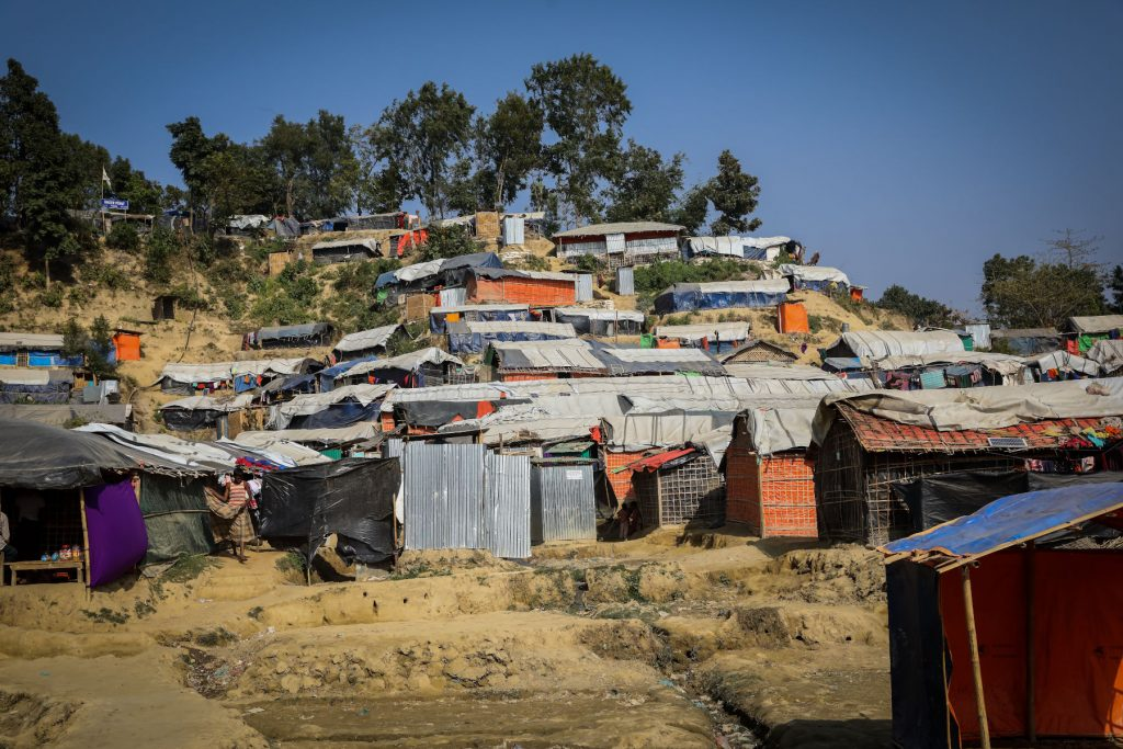 A view of Unchiprang refugee camp