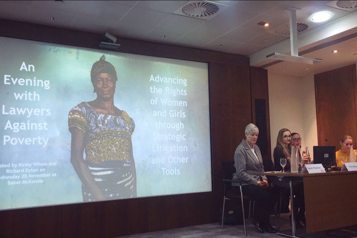 Event Report: Advancing Women's Rights Through Strategic Litigation and Other Tools