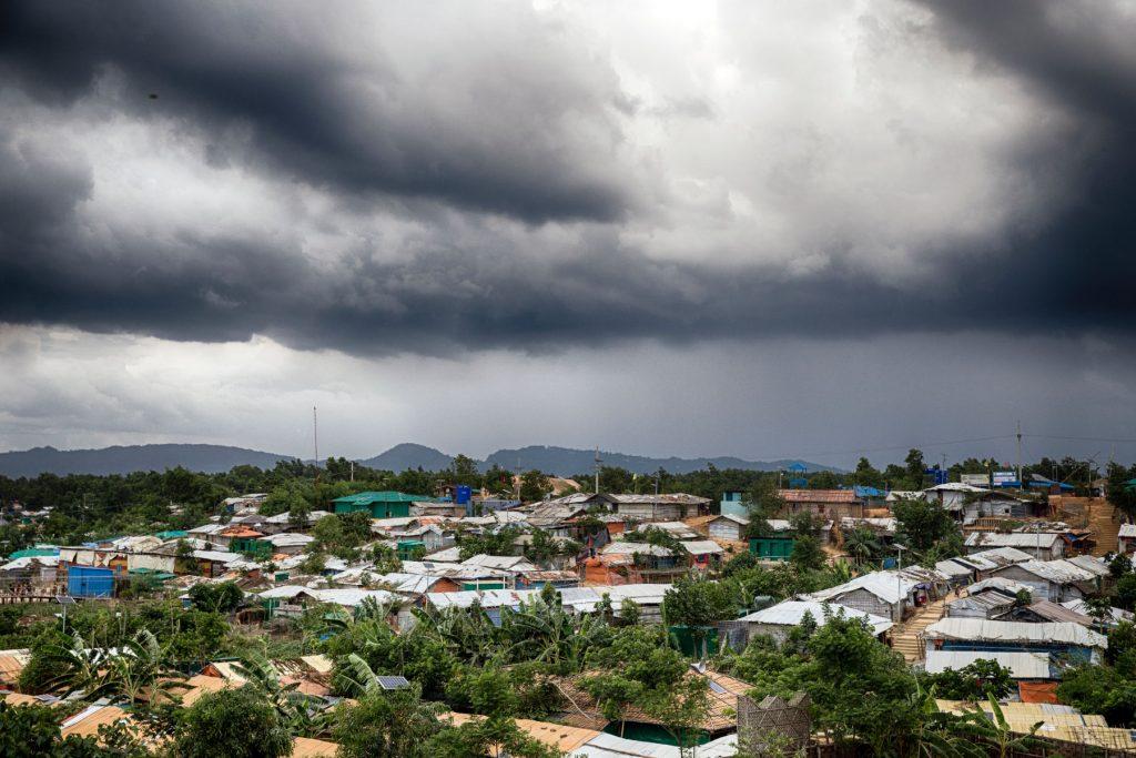 Cyclone Amphan - Stormy skies over Cox's Bazar, Bangladesh