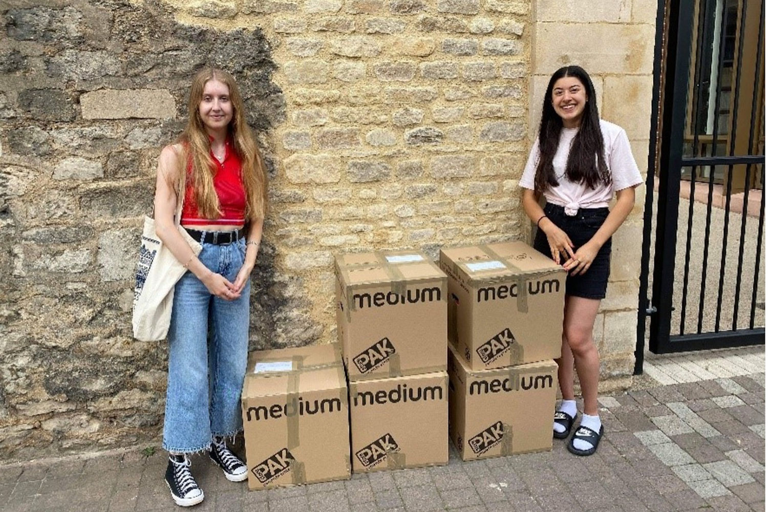 Books without borders: Student book drives