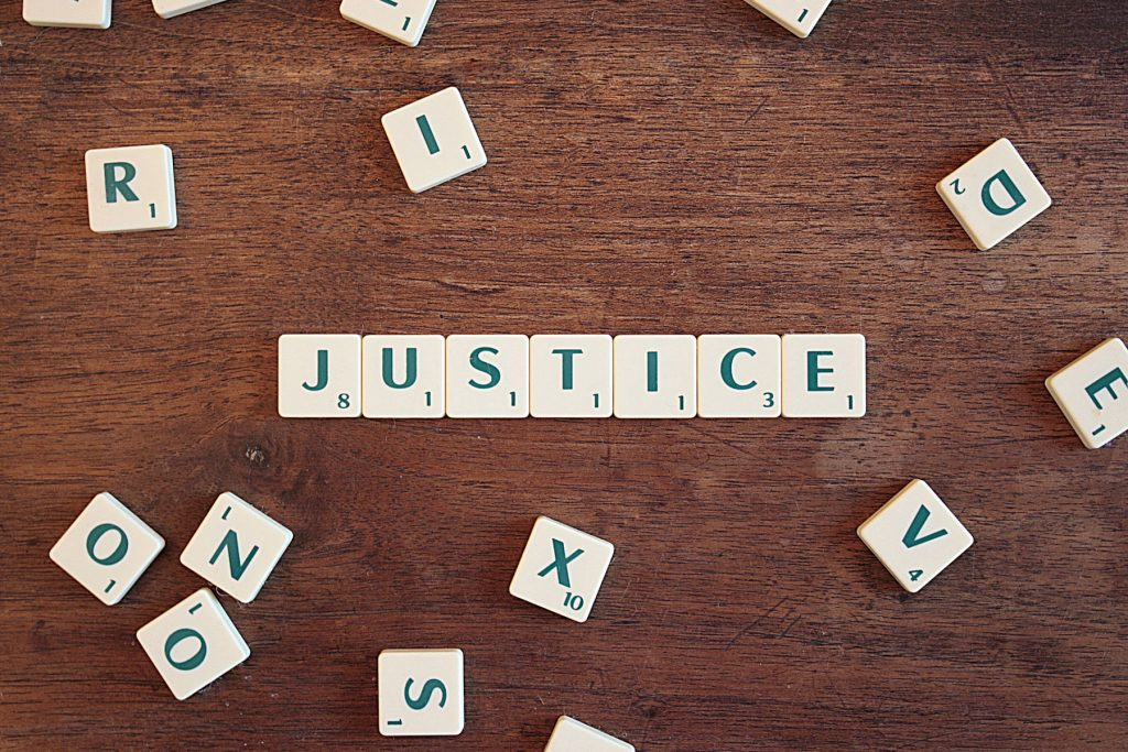 Justice. Image credit CQF-avocat from Pixabay.