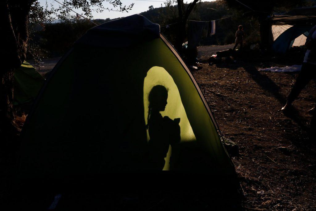 'Olive Grove' camp Moria
